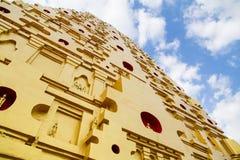 Bodhgaya Stupa or Phuthakaya Pagoda at Sangklaburi, Kanchanaburi Royalty Free Stock Images