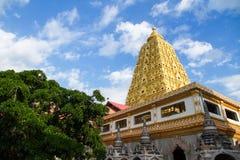 Bodhgaya Stupa or Phuthakaya Pagoda at Sangklaburi, Kanchanaburi Stock Images