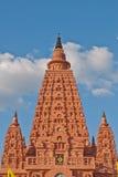 Bodhgaya stupa in thailand Stock Image