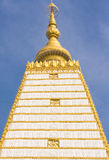 Bodhgaya-style stupa in Thailand Royalty Free Stock Photos