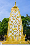 Bodhgaya-style stupa in Thailand Royalty Free Stock Photography