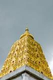Bodhgaya-style stupa at Wangvivagegaram Temple, Sangkhla Buri Royalty Free Stock Images