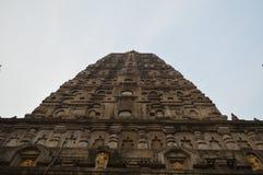 Bodhgaya temple Bihar India. Bodhgaya temple, Gaya Bihar India Royalty Free Stock Image