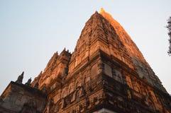 Bodhgaya temple Bihar India. Bodhgaya temple, Gaya Bihar India Stock Photo