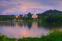 Bodhgayapagode in Thailand stock afbeeldingen