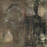 bodhi abstrakcjonistyczny liść ilustracja wektor