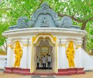 Bodhi drzewa świątynia Obraz Royalty Free