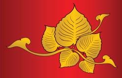 Bodhi drzewo buddyzmu wektoru ilustracja Zdjęcie Royalty Free