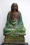 Bodhidharma asentado, dinastía ming, Victoria y Albert Museum, Londres imagen de archivo