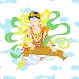 Bodhisattva στο βουδισμό ελεύθερη απεικόνιση δικαιώματος