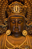 Bodhisattva. Filmed in emei mountain china, ebony bodhisattva statues Royalty Free Stock Photo