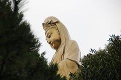 Bodhisattva. Horizon Buddhist Nanhai Guanyin Bodhisattva Putuo 33 meters high, carved exquisite, rare in the world stock image
