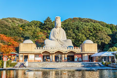 Bodhisattva Avalokitesvara (Kannon) at Ryozen Kannon in Kyoto. 