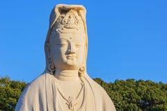 Bodhisattva Avalokitesvara (Kannon) at Ryozen Kannon in Kyoto Royalty Free Stock Photography
