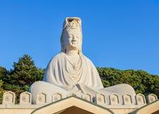 Bodhisattva Avalokitesvara (Kannon) at Ryozen Kannon in Kyoto Stock Photography