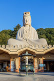 Bodhisattva Avalokitesvara (Kannon) at Ryozen Kannon in Kyoto Royalty Free Stock Photo