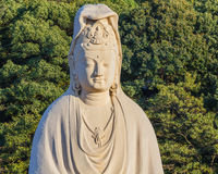Bodhisattva Avalokitesvara (Kannon) at Ryozen Kannon in Kyoto Royalty Free Stock Photography