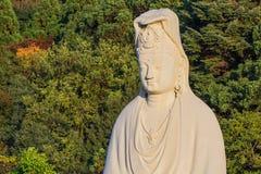 Bodhisattva Avalokitesvara in Ryozen Kannon in Kyoto Royalty-vrije Stock Fotografie