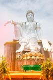 Bodhisattva Buddha is Guan Yin statue the Goddess of compassion. And mercy in Mutsea mountain viewpoint Stock Images