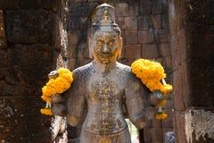 Bodhisattva in castle rock Stock Image