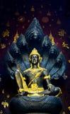 Bodhisattva dans des temples thaïs Photo stock