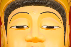 Bodhisattva face Stock Photography