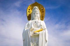 Bodhisattva Guan Yin, Hainan ö, Kina Arkivbilder