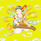 Bodhisattva im Buddhismus Vektor Abbildung