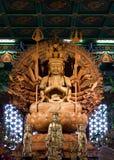 Bodhisattva image of buddha chinese ancient art Stock Photography