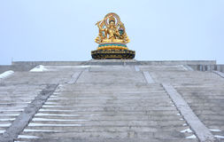 Bodhisattva Manjusri Statue Royalty Free Stock Photography