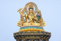 Bodhisattva Manjusri Statue Royalty Free Stock Image