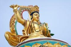 Bodhisattva Manjusri Statue Stock Photo