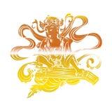 Bodhisattva no buddhism ilustração royalty free