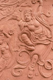 Bodhisattva relief Royalty Free Stock Images