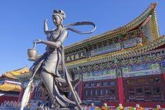 Bodhisattva statua Fotografia Stock
