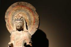 Bodhisattva Statue In Aurora Museum Stock Images