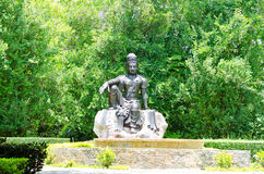Bodhisattva statue. Stock Image