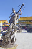 Bodhisattva statue royalty free stock photos