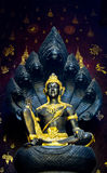 Bodhisattva in Thai temples. Thai temples in Northern Of Thailand Stock Photo