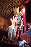 Bodhisattva. Tibetan Buddhist sculpture in the Tibetan Buddhist temple Stock Images