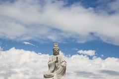 Bodhisattvastandbeeld Stock Foto's