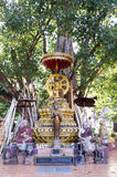 BodhiTree at Wat Chet Yot. Wat Chet Yot is to be found in northwest of the city centre of the northern Thai city Chiang Mai. Besides the very famous Mahabodhi Royalty Free Stock Image