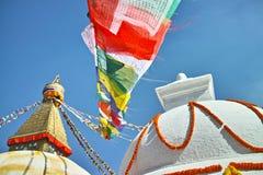 Bodhnath佛教徒塔 免版税库存图片