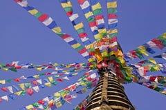 Bodhnath in Kathmandu Royalty Free Stock Photo