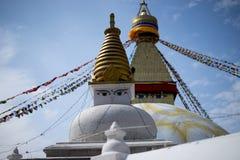 Bodhnath Stupa в Непале Стоковые Фотографии RF