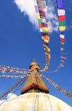 bodhnath stupa του Κατμαντού Στοκ φωτογραφία με δικαίωμα ελεύθερης χρήσης