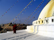 Bodhnath Stupa Royalty Free Stock Photography