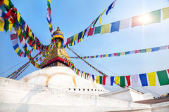 Bodhnath Stupa Imagen de archivo