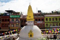 Bodhnath Stupa Lizenzfreies Stockbild
