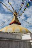 Bodhnath stupa fotografia royalty free